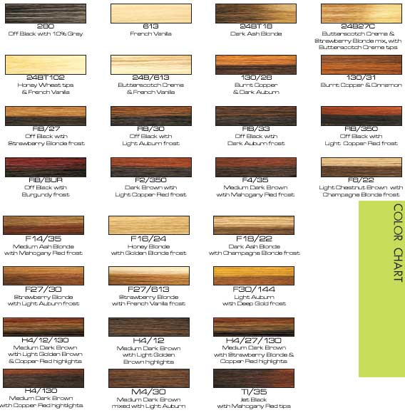 All Your Hair Style Revlon Hair Color Chart Of Revlon Hair Dye Color