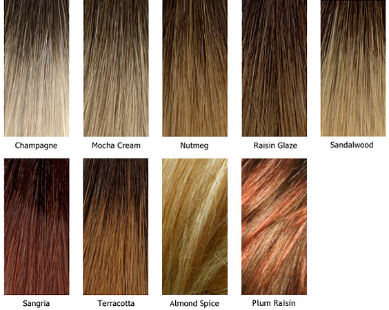 Rene of Paris Wig Colors | Hair and Beauty | Wigs Canada